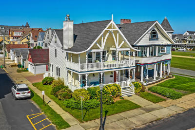 Ocean Grove NJ Single Family Home For Sale: $1,790,000