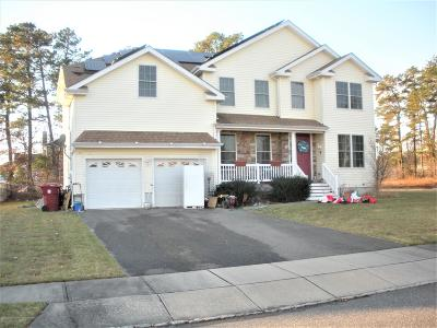 Ocean County Single Family Home For Sale: 390 Hopedale Drive
