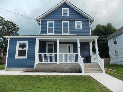 Long Branch Single Family Home For Sale: 112 Lippincott Avenue