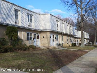 Eatontown Condo/Townhouse Under Contract: 95 White Street #D
