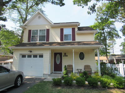 Toms River Single Family Home For Sale: 2308 Adams Avenue