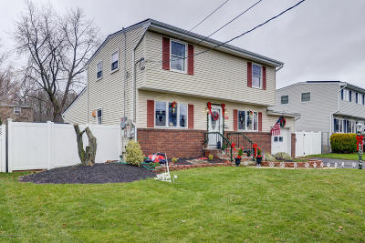Hazlet Single Family Home Under Contract: 21 Lafayette Drive