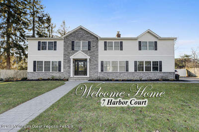 West Long Branch Single Family Home For Sale: 7 Harbor Court