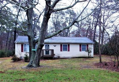 Bayville NJ Single Family Home Under Contract: $139,000