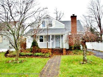 Neptune Single Family Home Under Contract: 93 Riverview Avenue