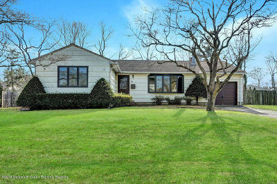 West Long Branch Single Family Home Under Contract: 20 Community Drive