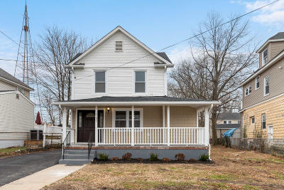Long Branch Single Family Home For Sale: 185 Edwards Avenue