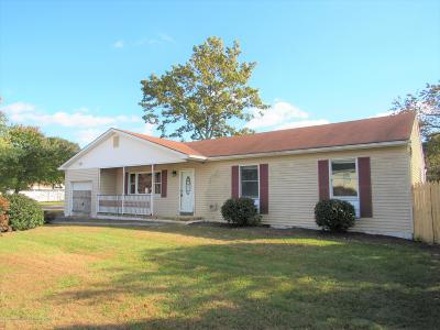 Toms River Single Family Home Under Contract: 1040 Lawrence Avenue