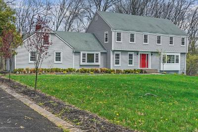 Colts Neck Single Family Home For Sale: 8 Saddle Ridge Road