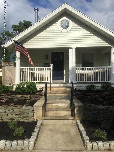 Avon-by-the-sea, Belmar Single Family Home For Sale: 614 4th Avenue