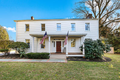 Freehold Single Family Home For Sale: 614 Colts Neck Road