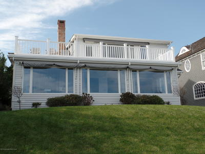 Monmouth County Single Family Home For Sale: 105 Ocean Avenue