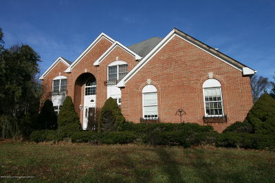 Freehold Single Family Home Under Contract: 150 Lions Court