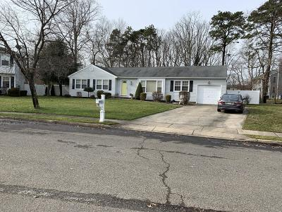 Toms River Single Family Home Under Contract: 128 Jeff Court