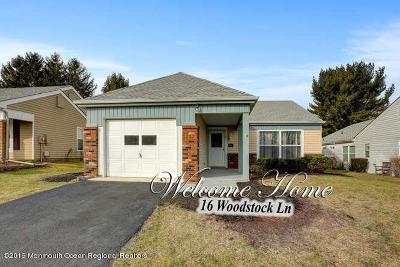 Leisure Knoll Adult Community For Sale: 16 Woodstock Lane