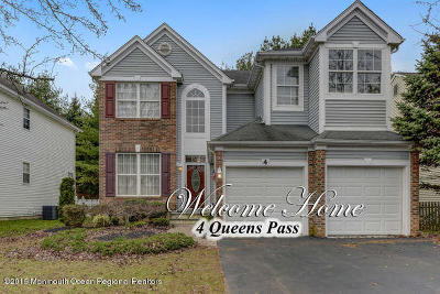 Colts Neck Single Family Home For Sale: 4 Queens Pass