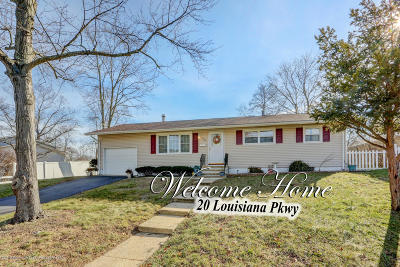 Jackson Single Family Home Under Contract: 20 Louisiana Parkway
