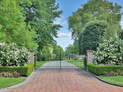 Monmouth County Single Family Home For Sale: 105 Rumson Road