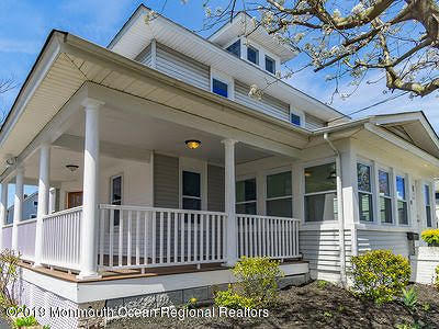 Avon-by-the-sea, Belmar, Bradley Beach, Brielle, Manasquan, Spring Lake, Spring Lake Heights Single Family Home For Sale: 55 Taylor Avenue