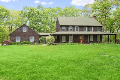 Millstone Single Family Home For Sale: 2 Sawmill Pond Road