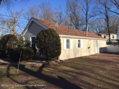 Freehold Single Family Home For Sale: 50 Weaverville Road