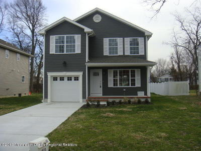 Long Branch Single Family Home For Sale: 136 Chelton Avenue