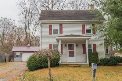 Single Family Home For Sale: 68 Jacobstown Road