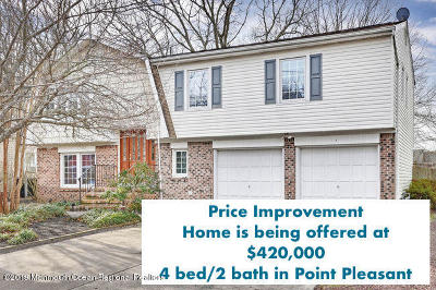 Point Pleasant Single Family Home For Sale: 3720 River Road
