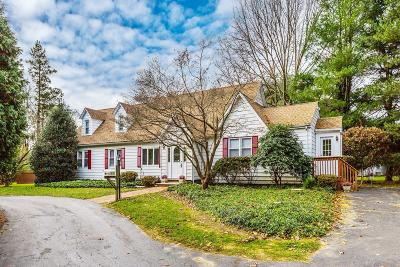 Holmdel Single Family Home Under Contract: 135 Crawfords Corner Road