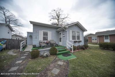 Neptune Single Family Home For Sale: 154 Hawthorne Avenue