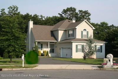 Toms River Single Family Home For Sale: 1381 Gillian Court