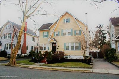 West Long Branch Single Family Home For Sale: 14 Norwood Court