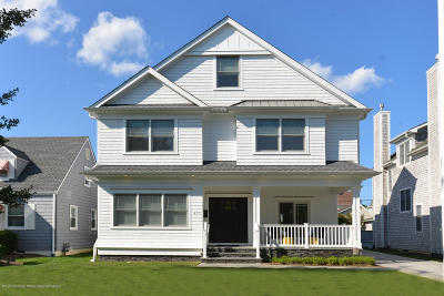 Sea Girt Single Family Home For Sale: 407 Baltimore Boulevard