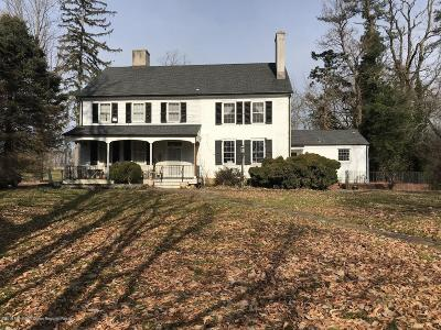 Monmouth County Farm For Sale: 555 Province Line Road