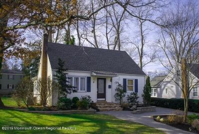 Red Bank Single Family Home Under Contract: 2 Davis Lane