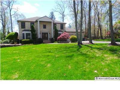 Freehold Single Family Home For Sale: 12 White Mountain Lane