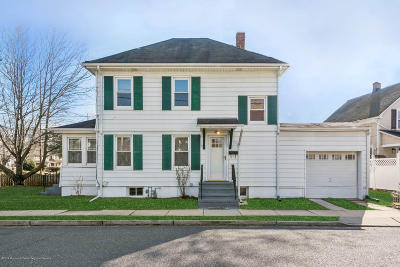 Red Bank Single Family Home For Sale: 3 Brown Place