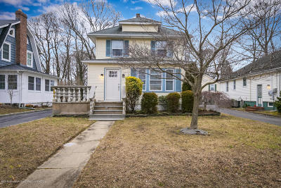 Red Bank Single Family Home Under Contract: 83 Harrison Avenue