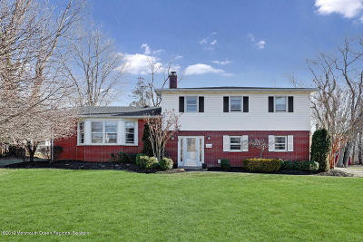 West Long Branch Single Family Home Under Contract: 500 Monmouth Road