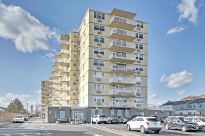 Long Branch Condo/Townhouse For Sale: 675 Ocean Avenue #2L