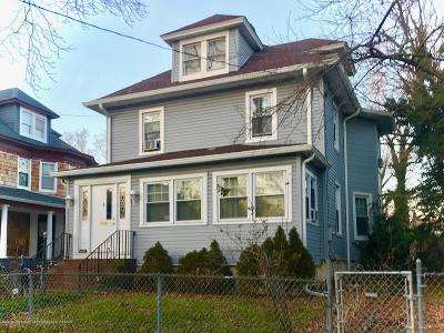Asbury Park Single Family Home Under Contract: 1105 Asbury Avenue