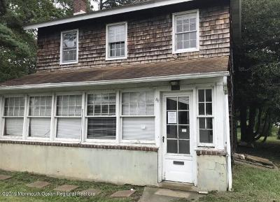 West Long Branch Single Family Home Under Contract: 96 Wall Street