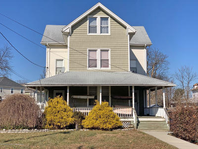 Long Branch Multi Family Home For Sale: 119 Franklin Avenue