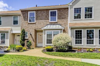 Morganville Condo/Townhouse Under Contract: 127 Bedford Place