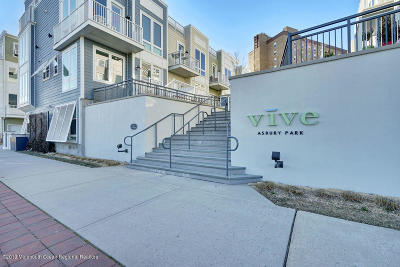 Asbury Park Condo/Townhouse For Sale: 803 Kingsley Street #5