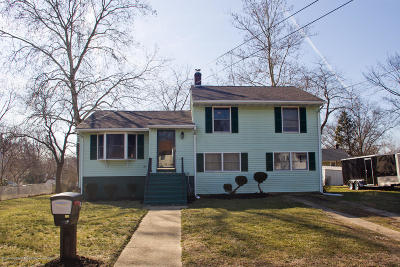 Neptune City, Neptune Township Single Family Home Under Contract: 15 Hillview Drive