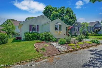 Point Pleasant Single Family Home Under Contract: 812 Bradley Road