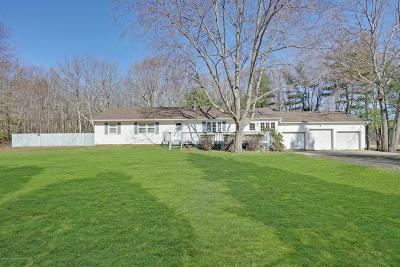 Monroe Single Family Home For Sale: 671 Spotswood Englishtown Road