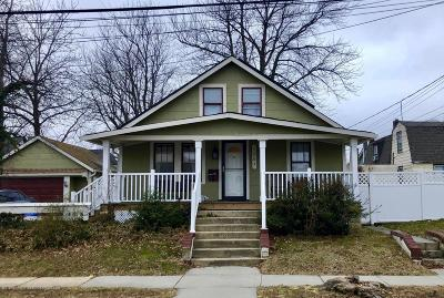 Belmar Single Family Home For Sale: 1203 Bayview Avenue