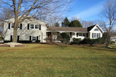 Freehold Single Family Home For Sale: 16 Overbrook Drive